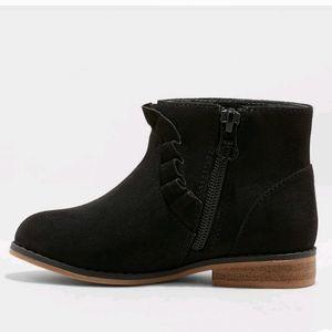 Girls Faux Suede Booties Cat & Jack Size 3